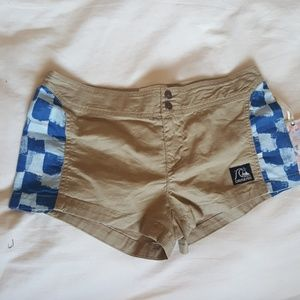 Quiksilver size 3 shorts.